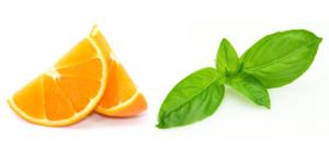arancia e basilico