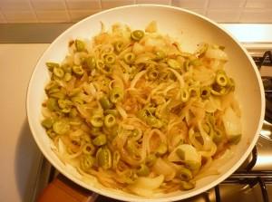 Focaccia di ceci alle cipolle e olive_5-2